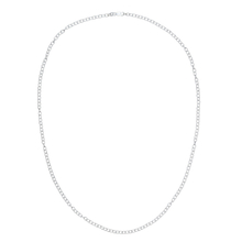 Oval Links Silver Chain 60 cm